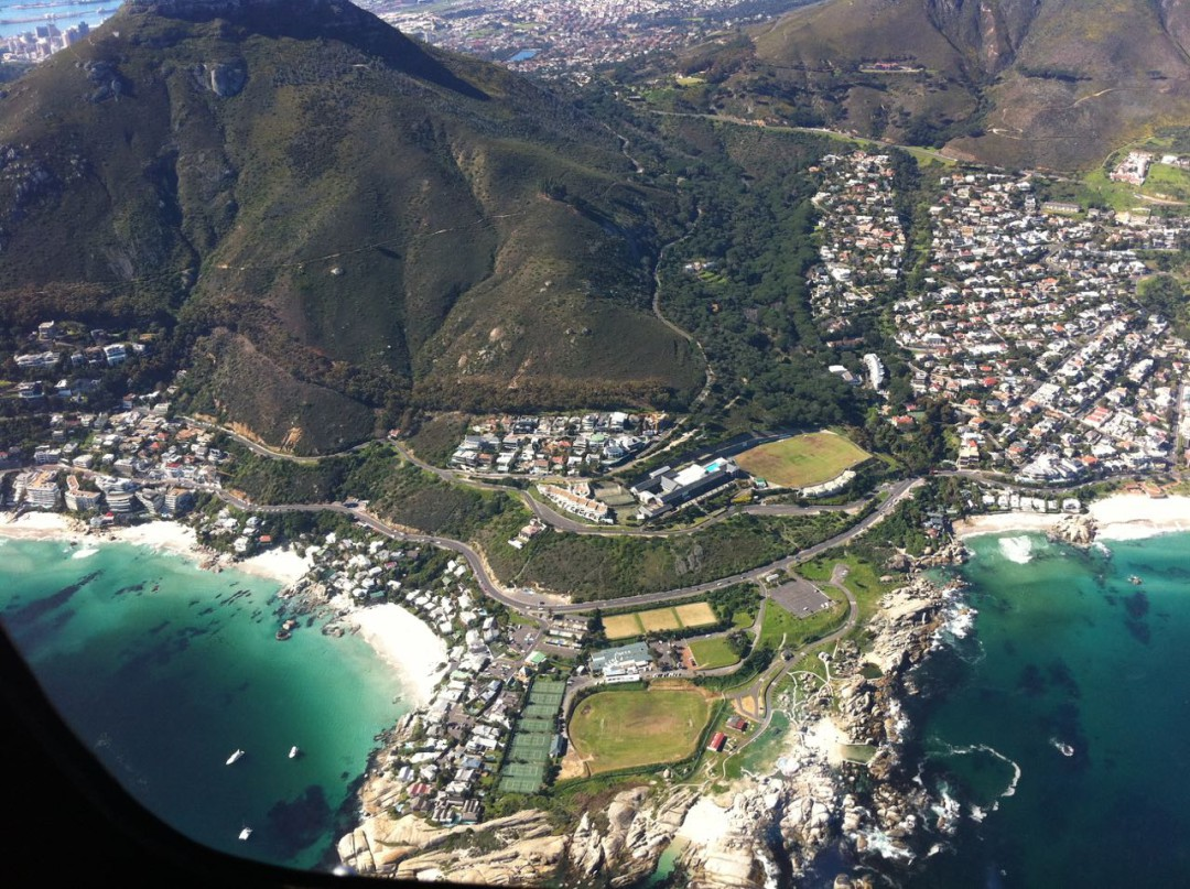 Helicopter flight Cape Town