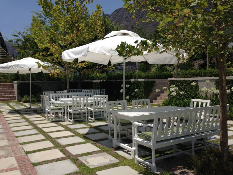 Le Lude Boutique Winery and L'Orangerie Restaurant, Franschhoek