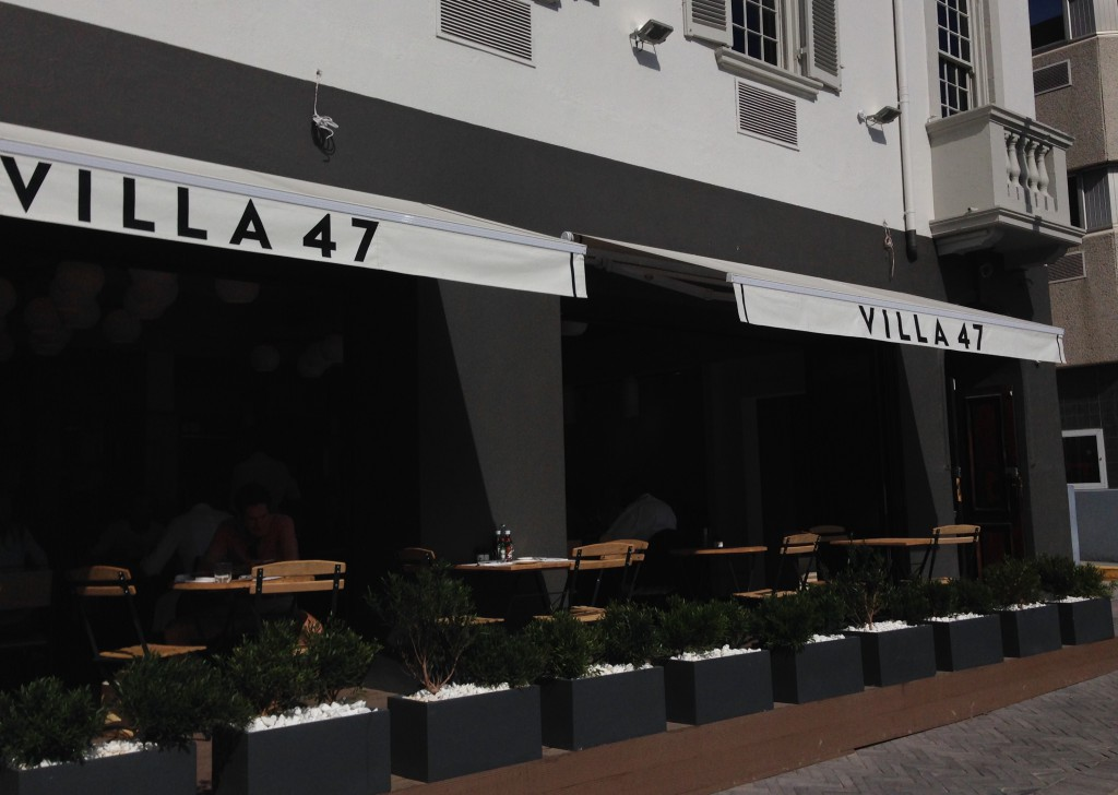 Delicious Italian Food for good prices at Villa 47 Bree Street Cape Town