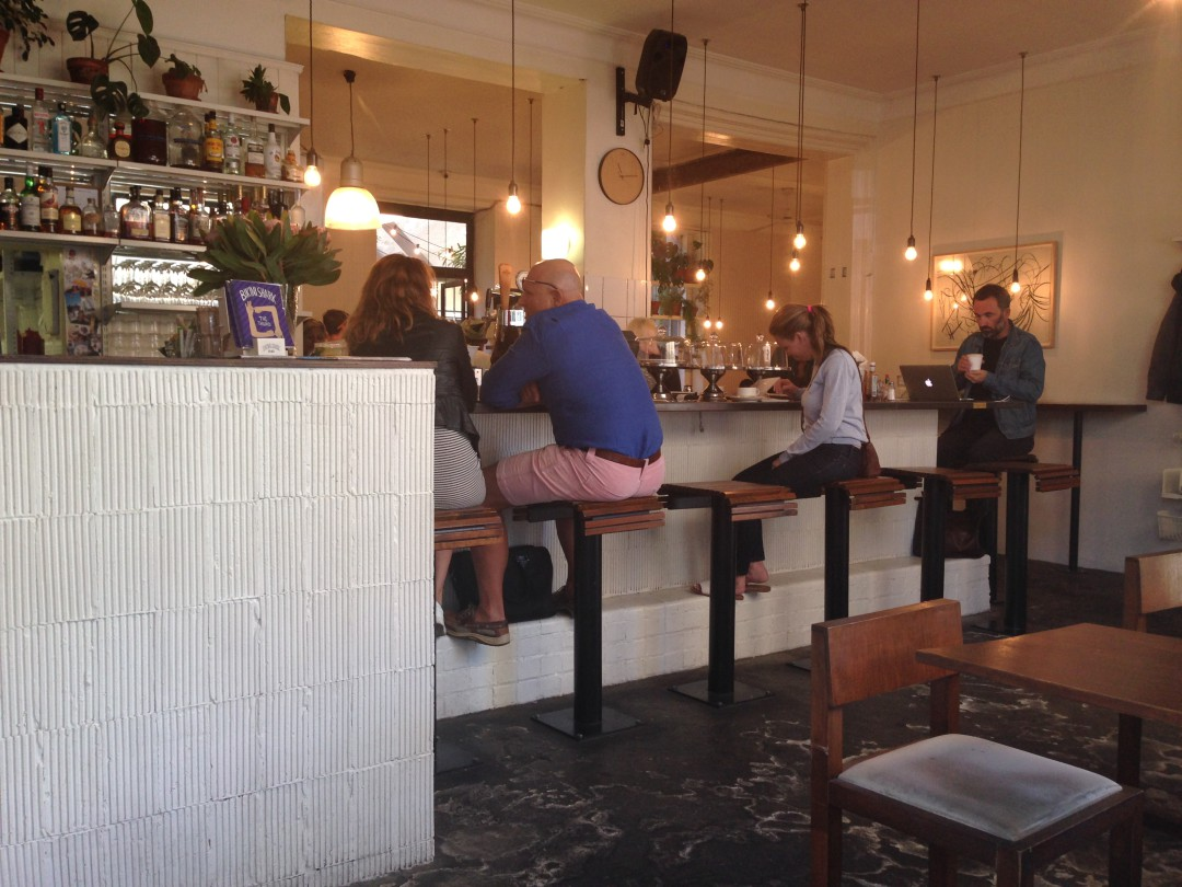 go for hipster delicious food, coffee, beer wine and burgers to Clarke's Bree Street Cape Town