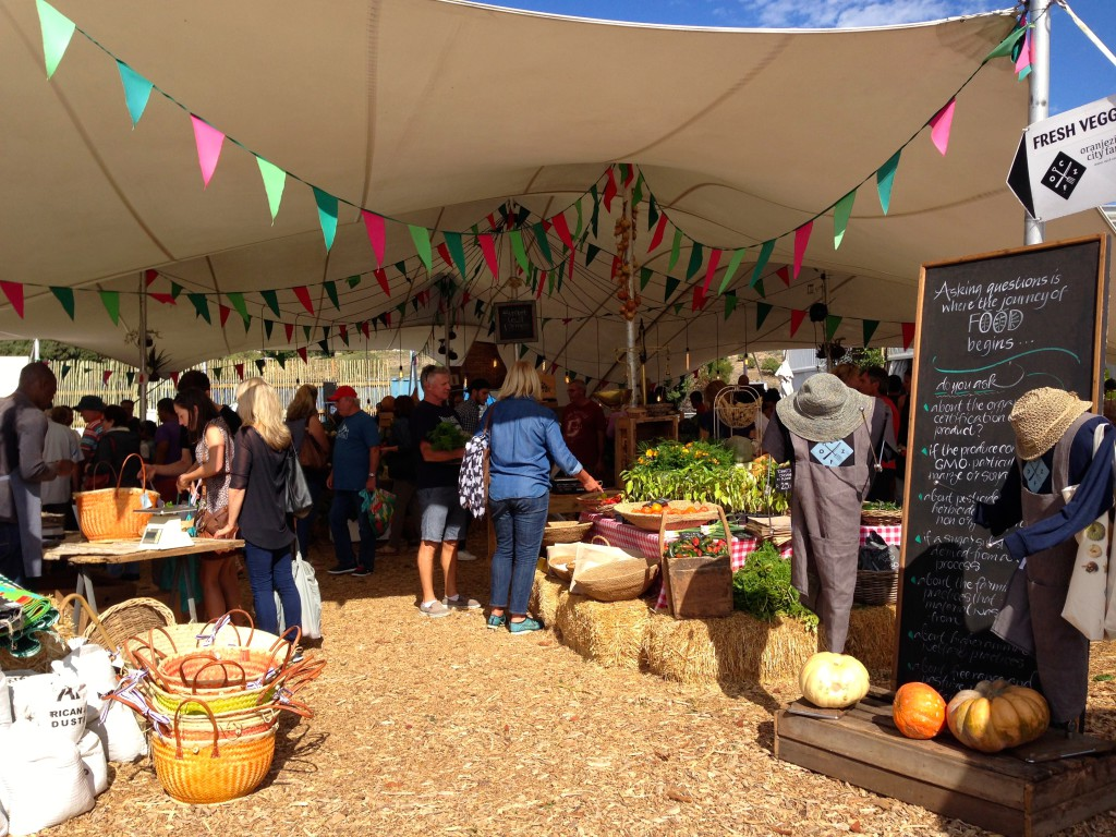 Oranjezicht City Farm Market is a great place for your weekly fresh shoppings especially vegetables herbs and fruits