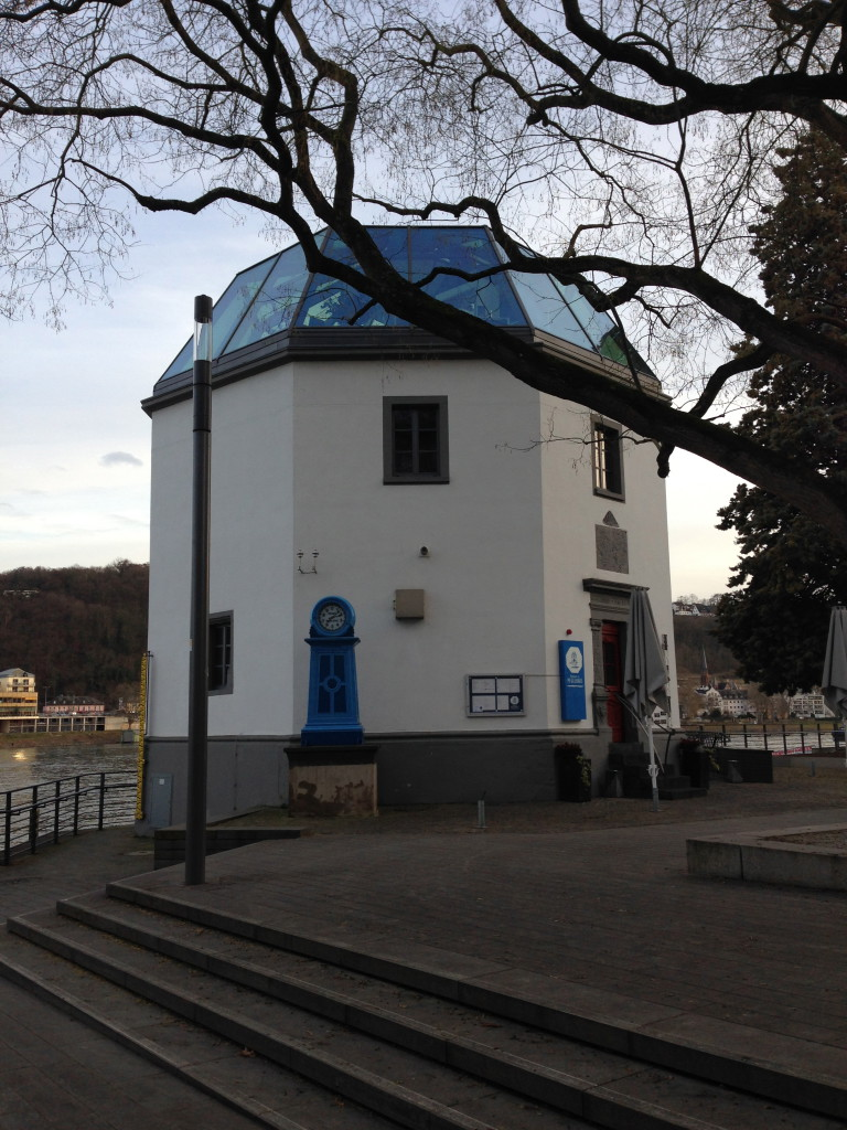 Koblenz is a nice village at the Deutsche Ecke of two rivers; the Mosel and the Rhein. It is a lovely little place with beautiful buildings, good food, the two rivers and the pump house.