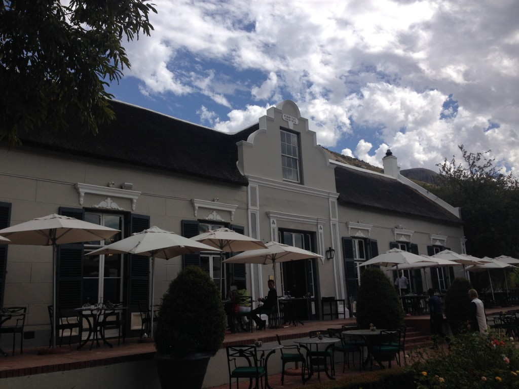 Lunch or dinner in the iconic restaurant Bosman's is for a foodie like me always a good idea.