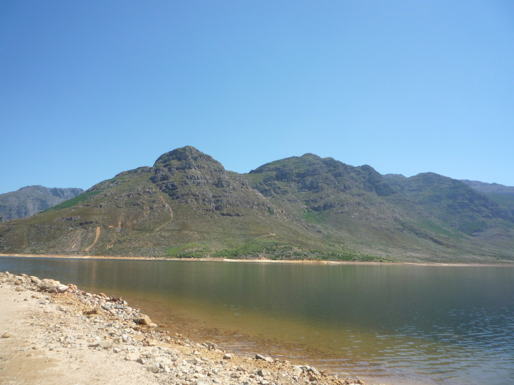 Beautiful nature area in Franschhoek is the Berg River Dam