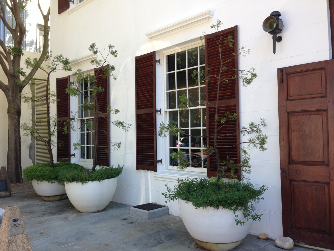 The Vineyard Hotel Cape Town has a beautiful old facade