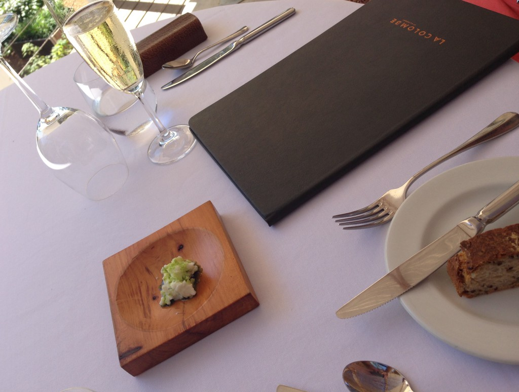 Table setting fine dining restaurant Cape Town Silvermist
