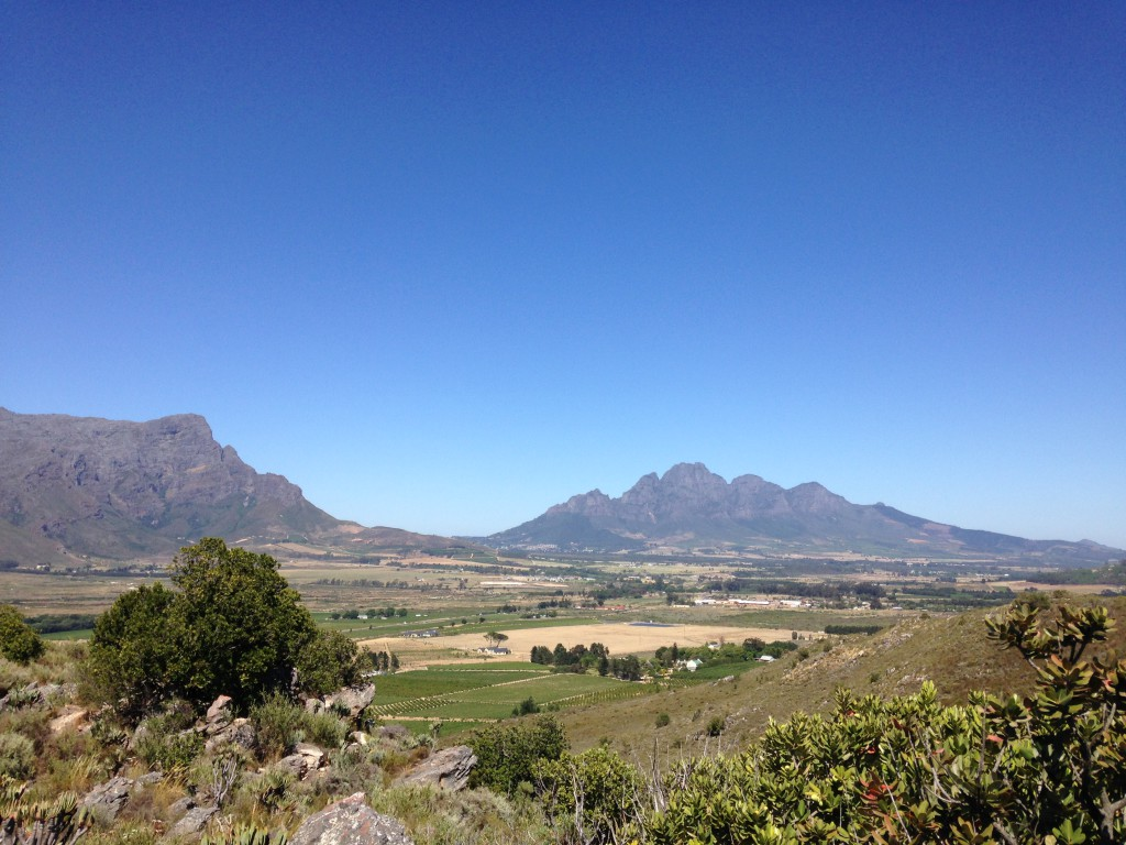 Franschhoek Winery La Motte South Africa walk nature views