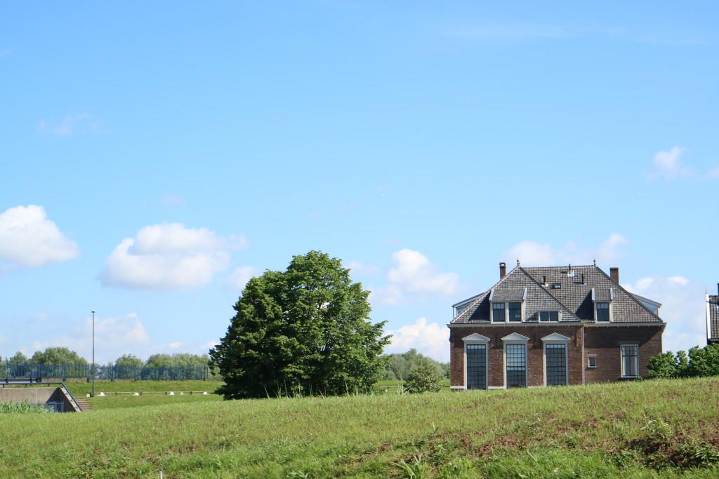 Kinderdijk, Windmills, Famous Dutch landscape, near Rotterdam, The Netherlands