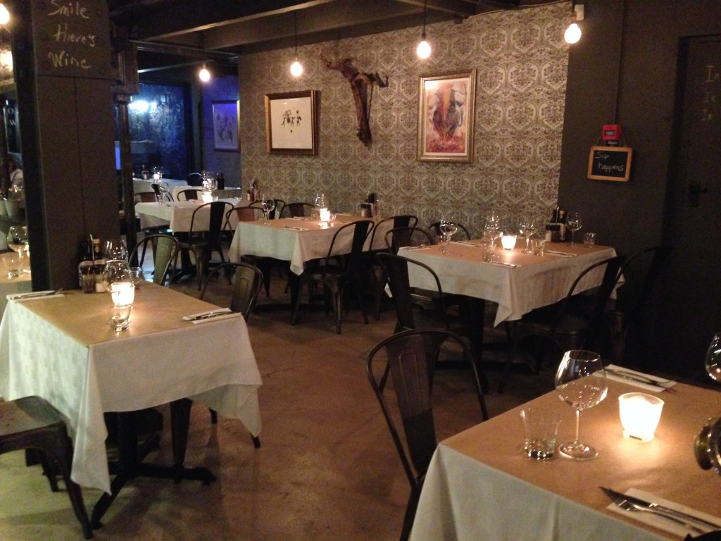 Le Bouchon Wine and Tapas, Hout Street, just off Bree
