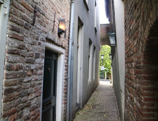 Utrecht, historic city with beautiful courtyards and hidden city gardens