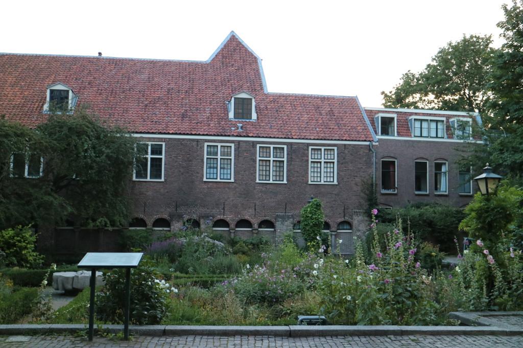 Utrecht, historic city with beautiful courtyards and hidden city gardens