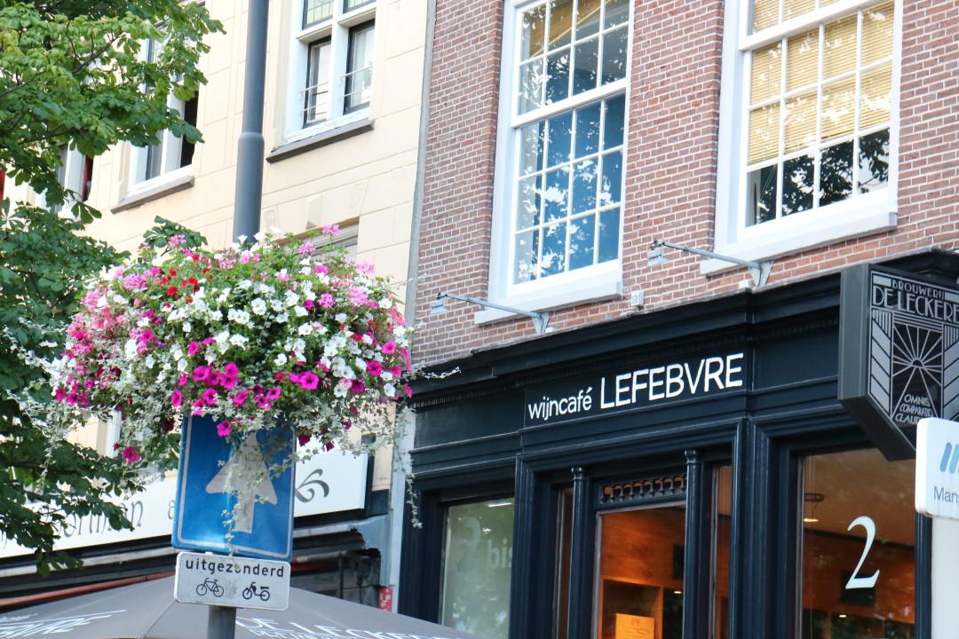 Lefebre, wijnbar, Utrecht, Nederland