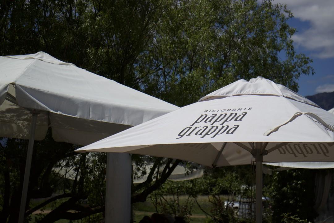 Pappa Grappa, Italian German Restorante, Simondium Paarl, South Africa, Wilderer's Distillery, Grappa and Gin