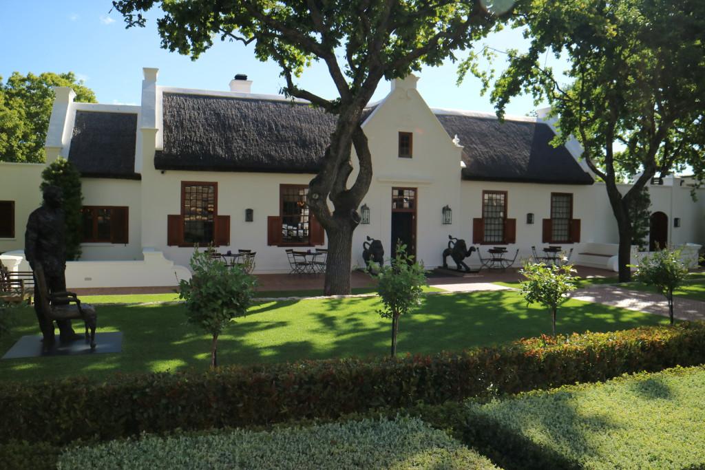 Places of interest, buildings, monument, Franschhoek village
