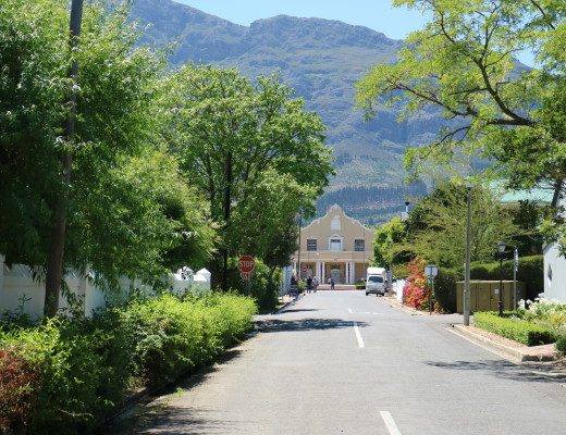 Places of interest, buildings, monument, Franschhoek village