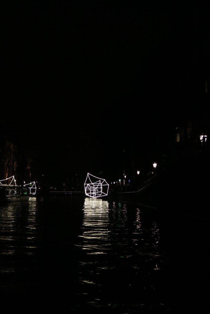 Amsterdam Light Festival on the shortest day of the northern hemisphere, December 2016