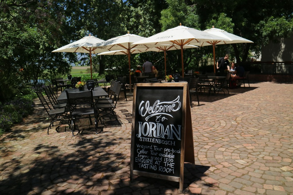 Jordan Restaurant and Winery, Stellenbosch, South Africa