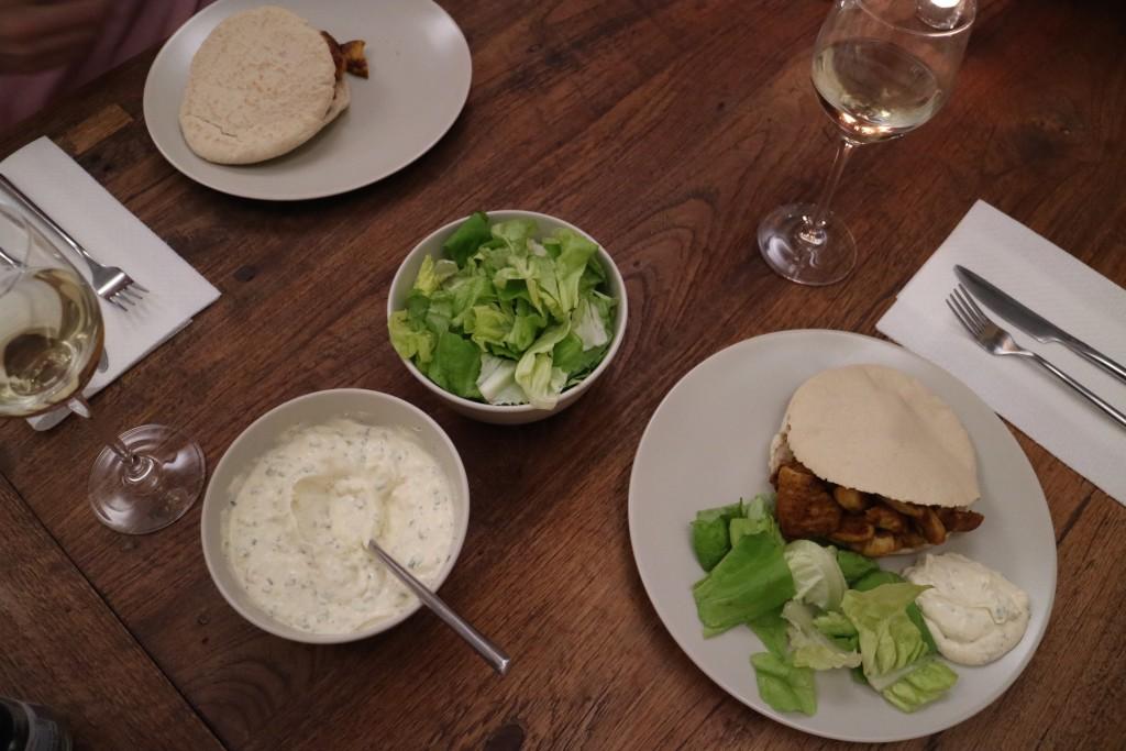 Chicken kebab shawarma, shoarma, pita, spiced, food, recipe