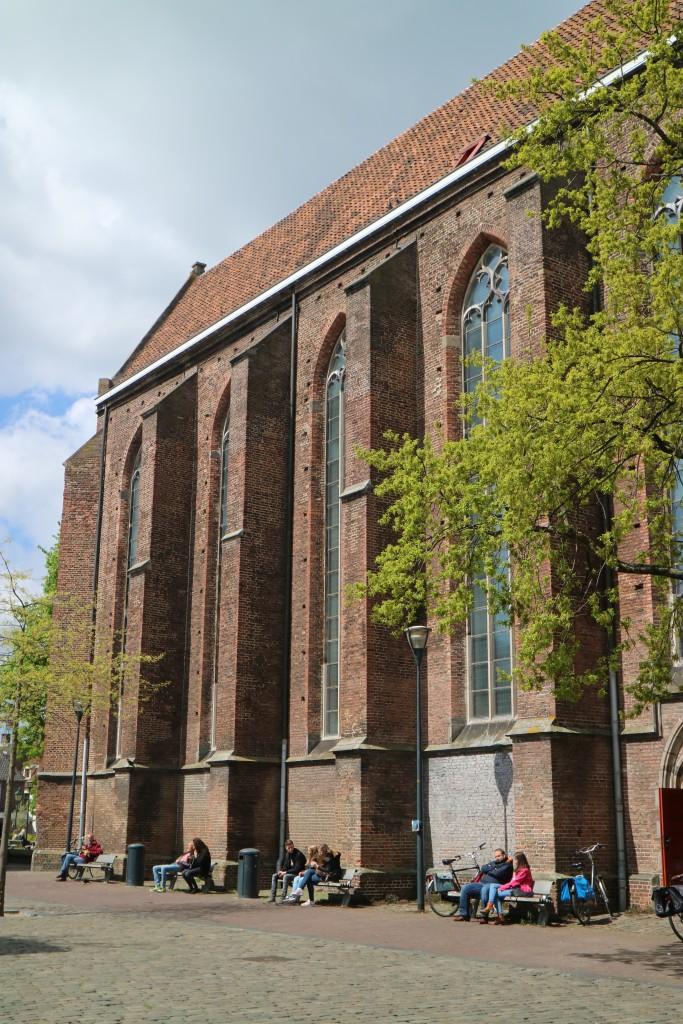 Waanders boeken, Waanders bookstore, Old Church, Broerenkerk, Broeren Church, Zwolle, the Netherlands