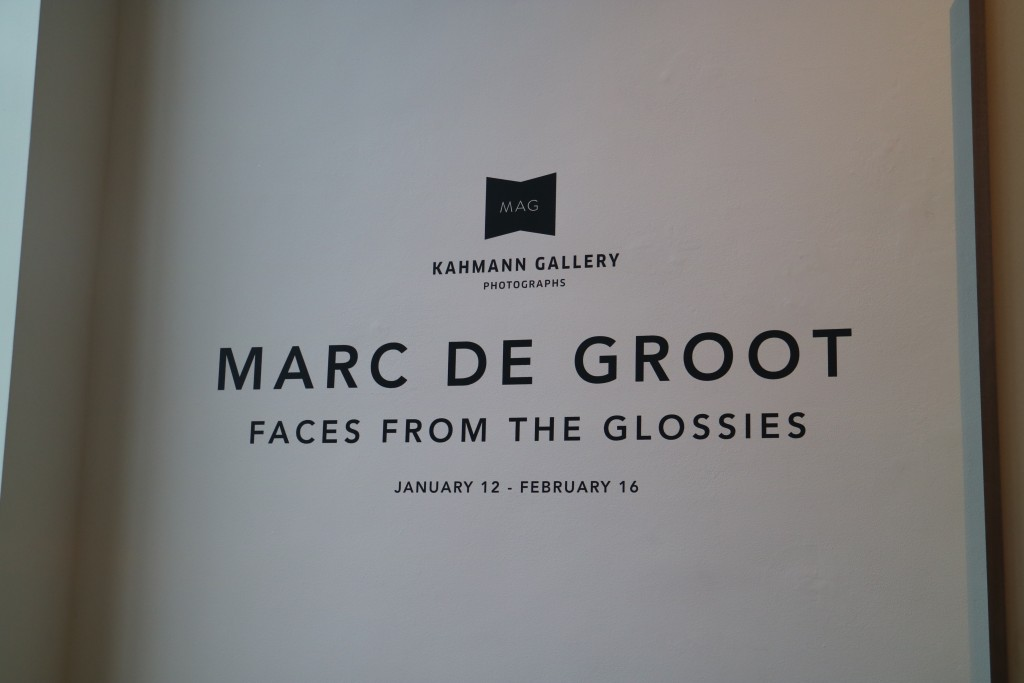 Faces from the Glossies, Marc de Groot, Kahmann Gallery, Lindengracht, Amsterdam, expositie, modefotograaf, Elle, LINDA.