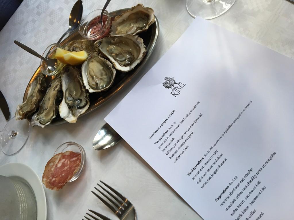 Rijsel, Hier moet je eten, Frans, oesters, Amsterdam