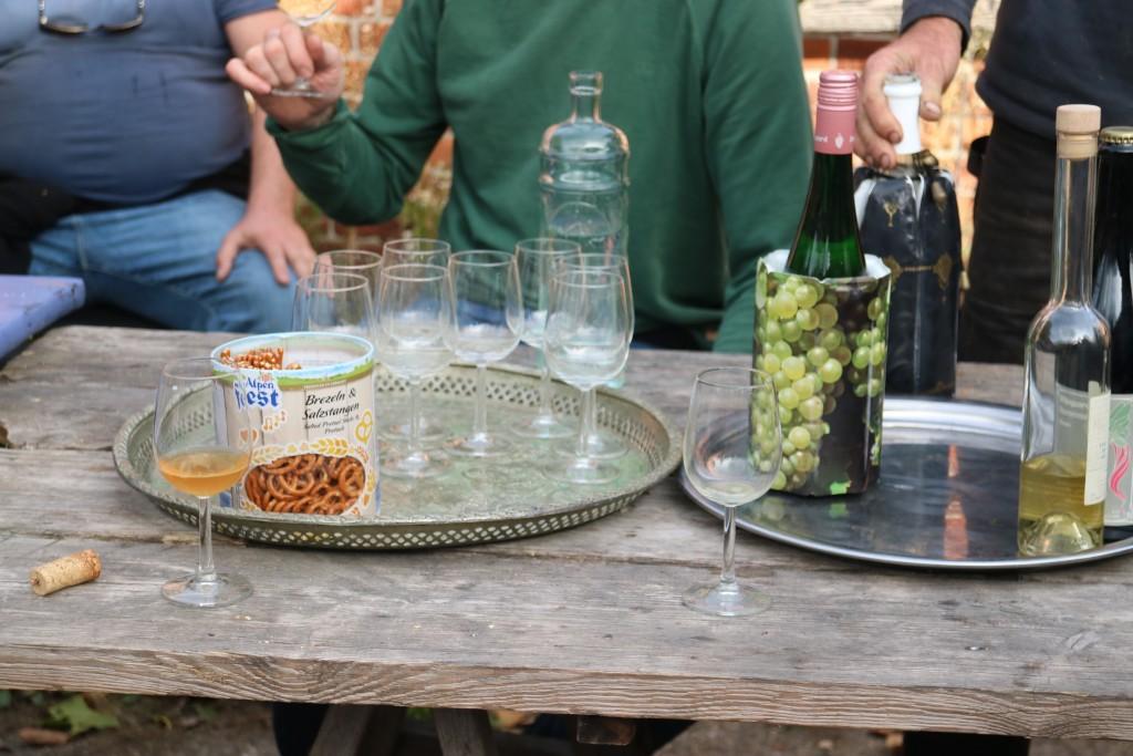 Dassemus, wijngaard, druiven plukken, oogst 2018, Chaam, Noord-Brabant, wijn, orange wijn, ceci n'est pas un orange, Harold Hamersma, Marnix Rombaut, Daxivin, Hotel de Goudfazant, Choux, Bak, Glouglou, Bar Centraal, De Kade, Amsterdam