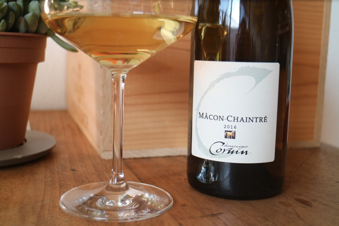Dominque Cornin, Mâcon-Chiantré 2016, Bourgogne, Mâconnais, Chardonnay, wijnblogger