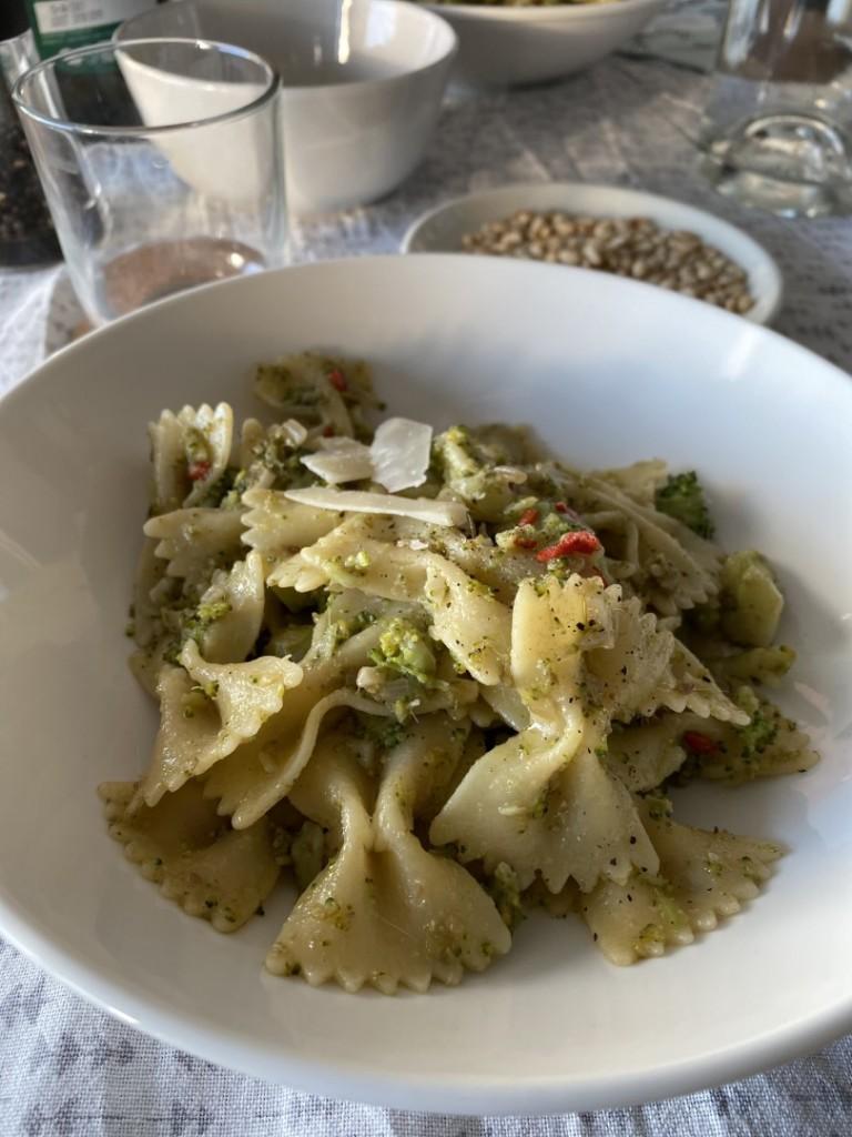 broccoli, pasta, chili, ansjovis, crisiskoken,