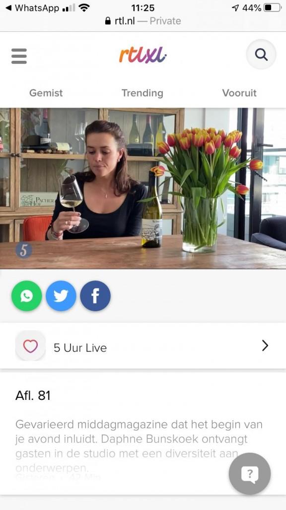 5 uur Live, wijncursus met Auk voor beginners, proeverij